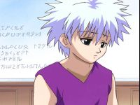 Sad Killua