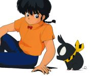 Ranma and P-Chan